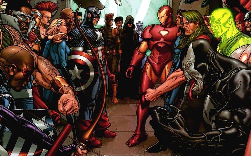 Illustration for article titled ¿Quién luchará contra quién en Captain America: Civil War? Estos son los equipos