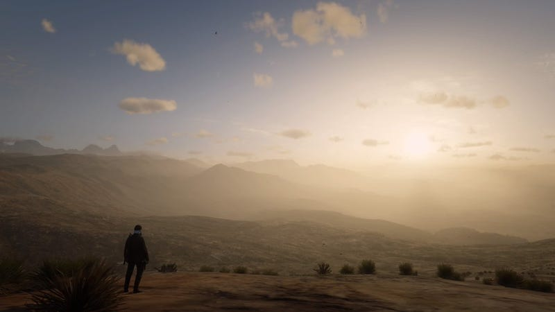 Red Dead Online Players Escape Game World, Find Beautiful Desert