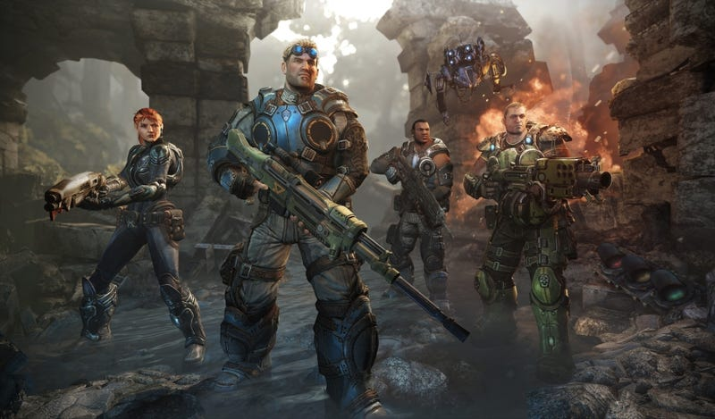 Illustration for article titled 'Warzone' Multiplayer is on Gears of War: Judgment Disc Thanks to Stray Code