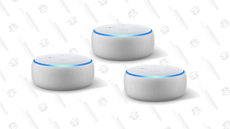 Echo Dot (3rd Gen) Smart Speaker (3-Pack) | $70 | Amazon
