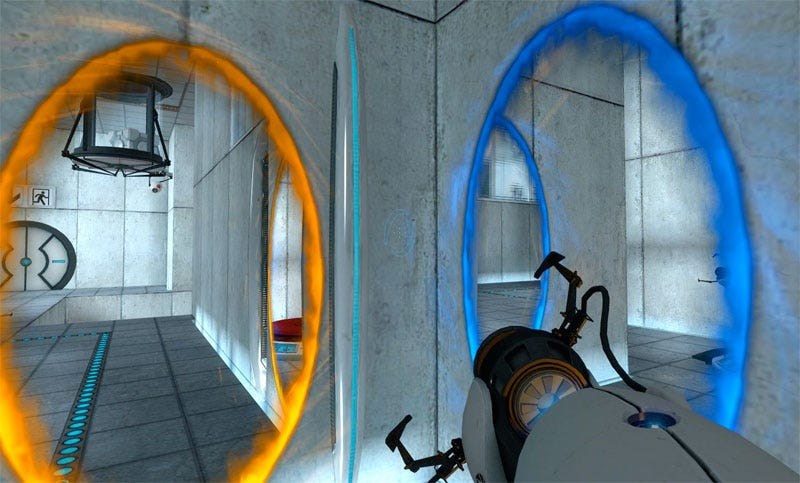 Portal 2 Adds Multiplayer Co Op New Familiar Characters