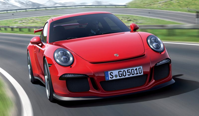 Illustration for article titled The Next Porsche 911 GT3 RS Will Not Have A Manual Gearbox