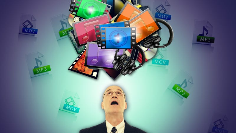 Illustration for article titled How to Break Your Media Addiction and Clean Up Your Digital Clutter