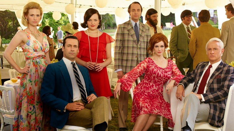 Illustration for article titled Mad Men begins its shuffle off television's mortal coil