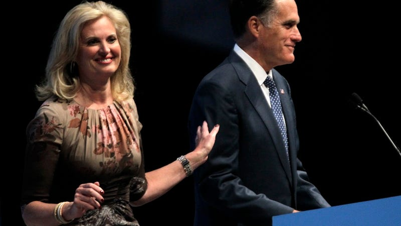Ann Romney Dog That Shat Himself Out Of Fear Actually
