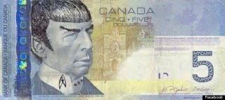 """Illustration for article titled Canada's """"Spocking Fives"""" Phenomenon Surges In Tribute To Leonard Nimoy"""