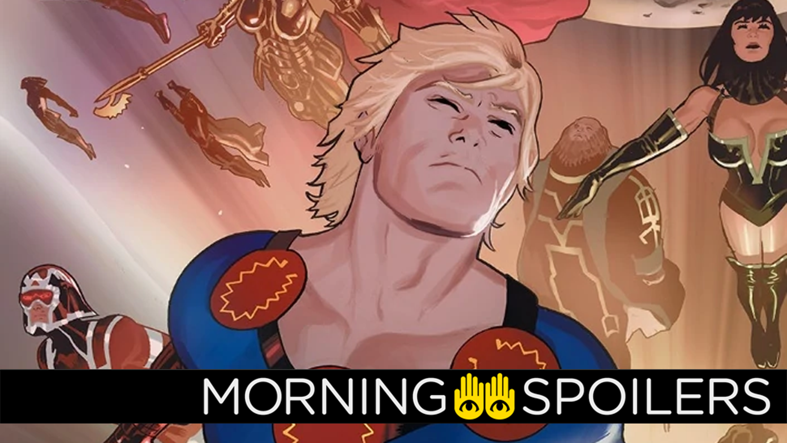 Another Wild Rumor About the Cast of Marvel's Eternals
