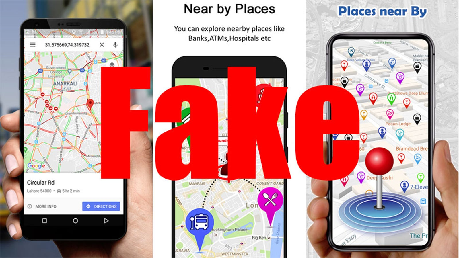 QnA VBage Navigation Apps With Millions of Downloads Exposed as Just Google Maps With Bonus Ads