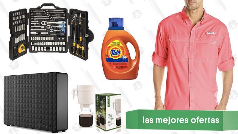 Illustration for article titled Las mejores ofertas de este lunes: Routers de Google, arroceras, herramientas y más