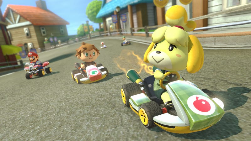 Illustration for article titled TAY Game Night: Mario Kart 8