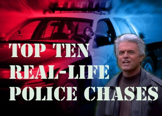 Illustration for article titled Top Ten Best Real-Life Police Chases