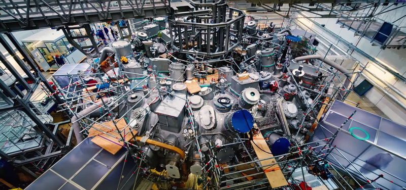 Illustration for article titled World's Largest Fusion Reactor is About to Switch On