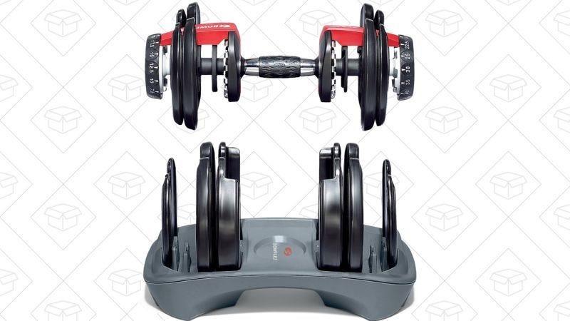 Set de Pesas Bowflex, $236