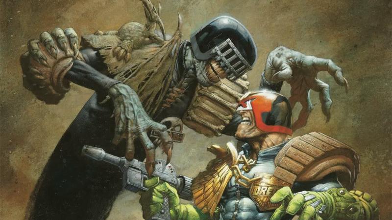 Dredd vs. Death by Greg Staples.