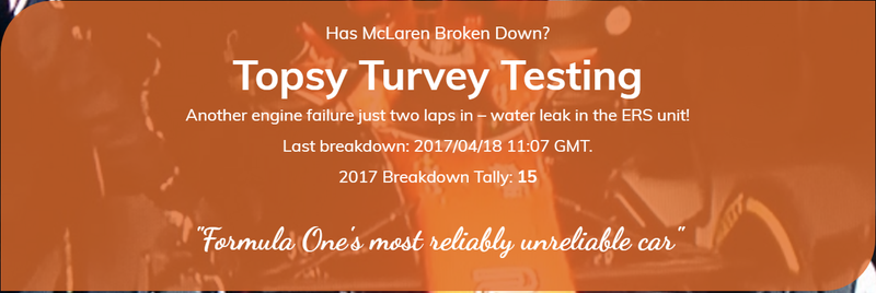 Illustration for article titled Water Leak at McLaren