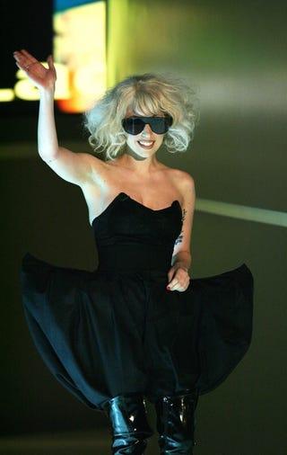 "Illustration for article titled Gaga ""Defends"" Adam Lambert;  Artie Lange Hospitalized"