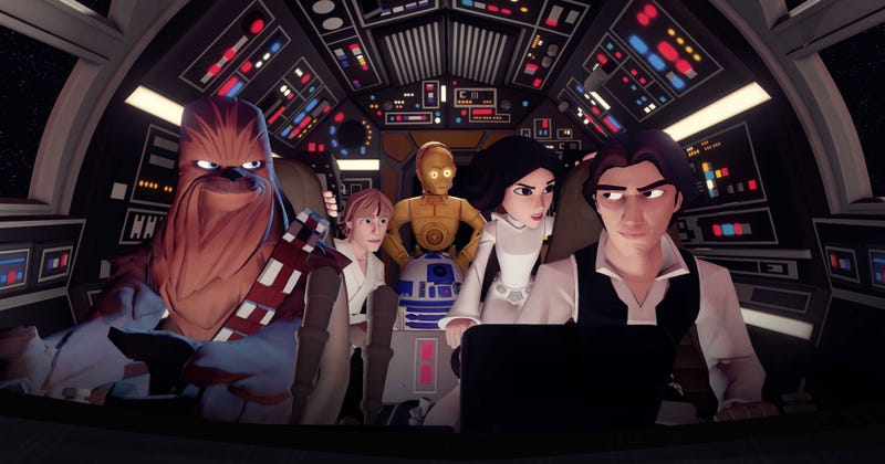 Illustration for article titled Disney Infinity 3.0 is Actually a Pretty Interesting Star Wars Game