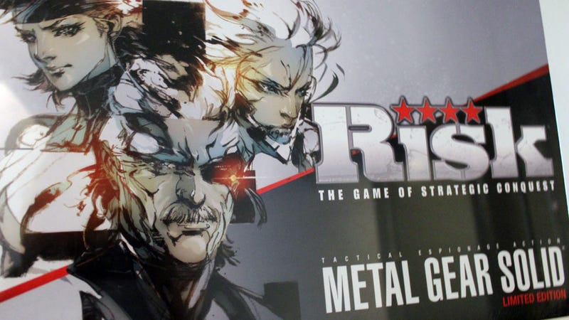 Illustration for article titled In Risk: Metal Gear Solid, You Can Nuke Australia, Occupy Outer Haven