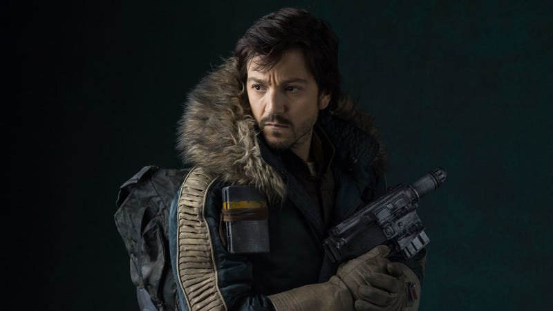 Diego Luna will star as Cassian Andor in a new show for Disney+.