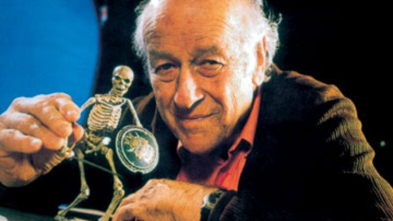 Illustration for article titled Ray Harryhausen