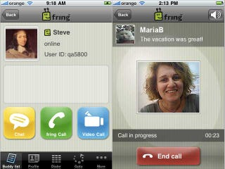 Illustration for article titled Video Calls Now Available On the iPhone