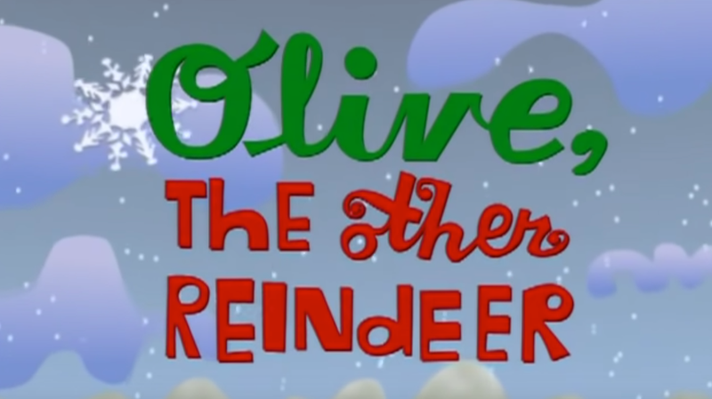 """Illustration for article titled """"Olive, the other reindeer"""" and other misheard song lyrics"""