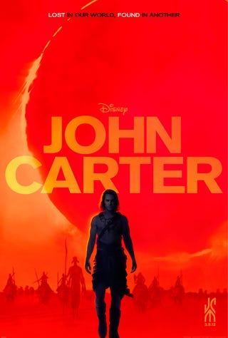 Illustration for article titled John Carter Poster