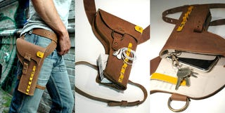 Illustration for article titled Y01 Holster Is for Gadget Cowboys Going West