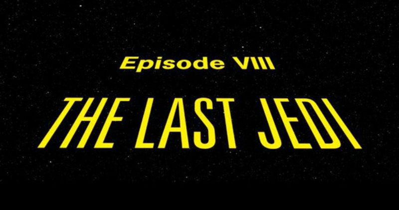 Illustration for article titled What the Hell Is the Opening Crawl for The Last Jedi Going to Be?