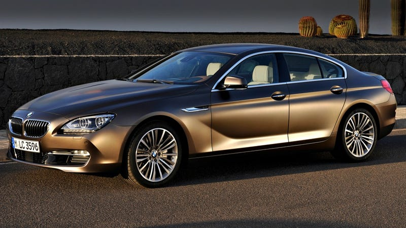 """Illustration for article titled 2013 BMW 6 Series Gran Coupe: Oops, is that an """"M"""" badge?"""