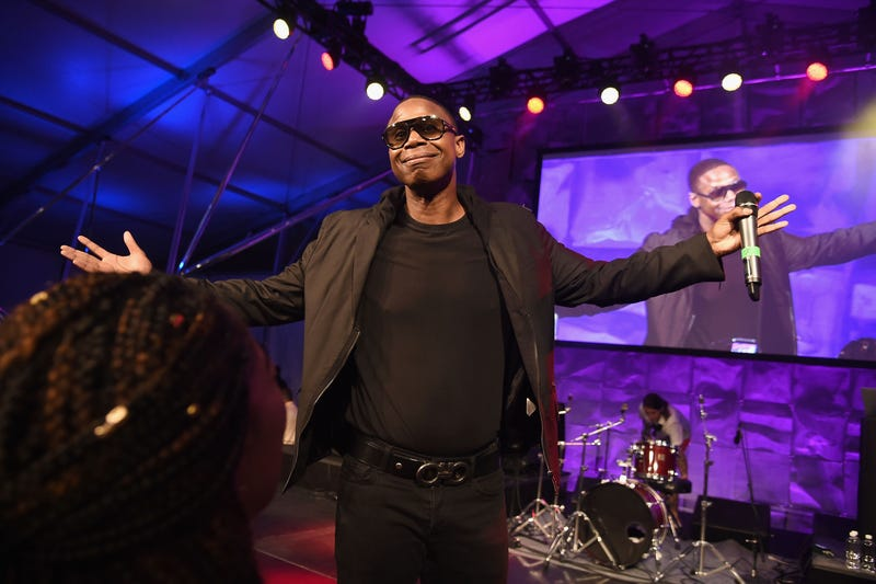 Doug E. Fresh performs at the Rush Philanthropic Arts Foundation's 2016 Art for Life Benefit at Fairview Farms in Bridgehampton, N.Y., on July 16, 2016.Nicholas Hunt/Getty Images for Rush Philanthropic Arts Foundation