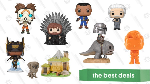 Funko Pops Are as Low as $2 Each in Today's Top Deals