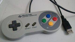 Illustration for article titled Turn a SNES Gamepad into a USB Game Controller You Can Use with Your PC, XBox 360, or PS3