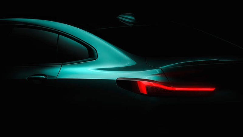 Illustration for article titled The Next BMW Small Sedan Will Be FWD Just as We Feared