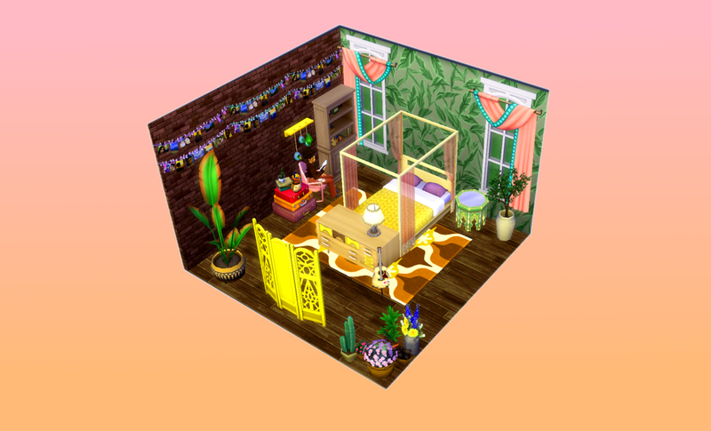 Illustration for article titled Sims Players Are Building Adorable Dollhouses
