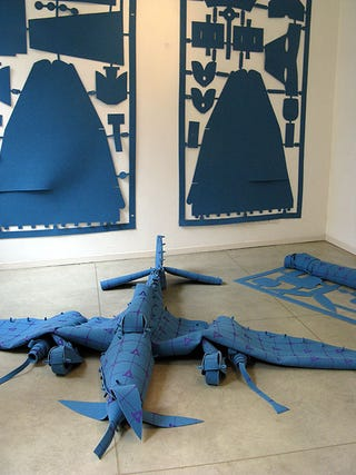 Illustration for article titled Stuka Airplane Kit Is a Flying Carpet, Literally