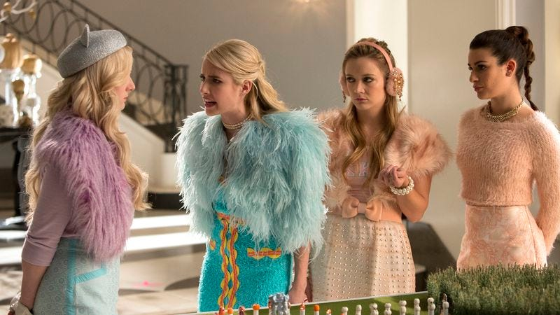 """Illustration for article titled Scream Queens tries to manufacture camp magic in """"Pumpkin Patch"""""""
