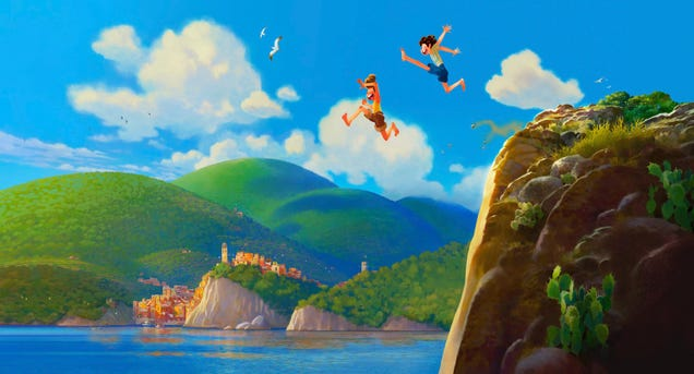 Pixar s Next Film, Luca, Will Be an Adventure in the Italian Riviera....With a Twist