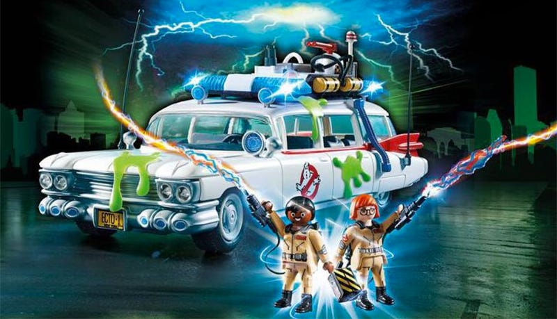 Illustration for article titled The First Pics of Playmobil's Ghostbusters Toys Are Here and They're Fantastic