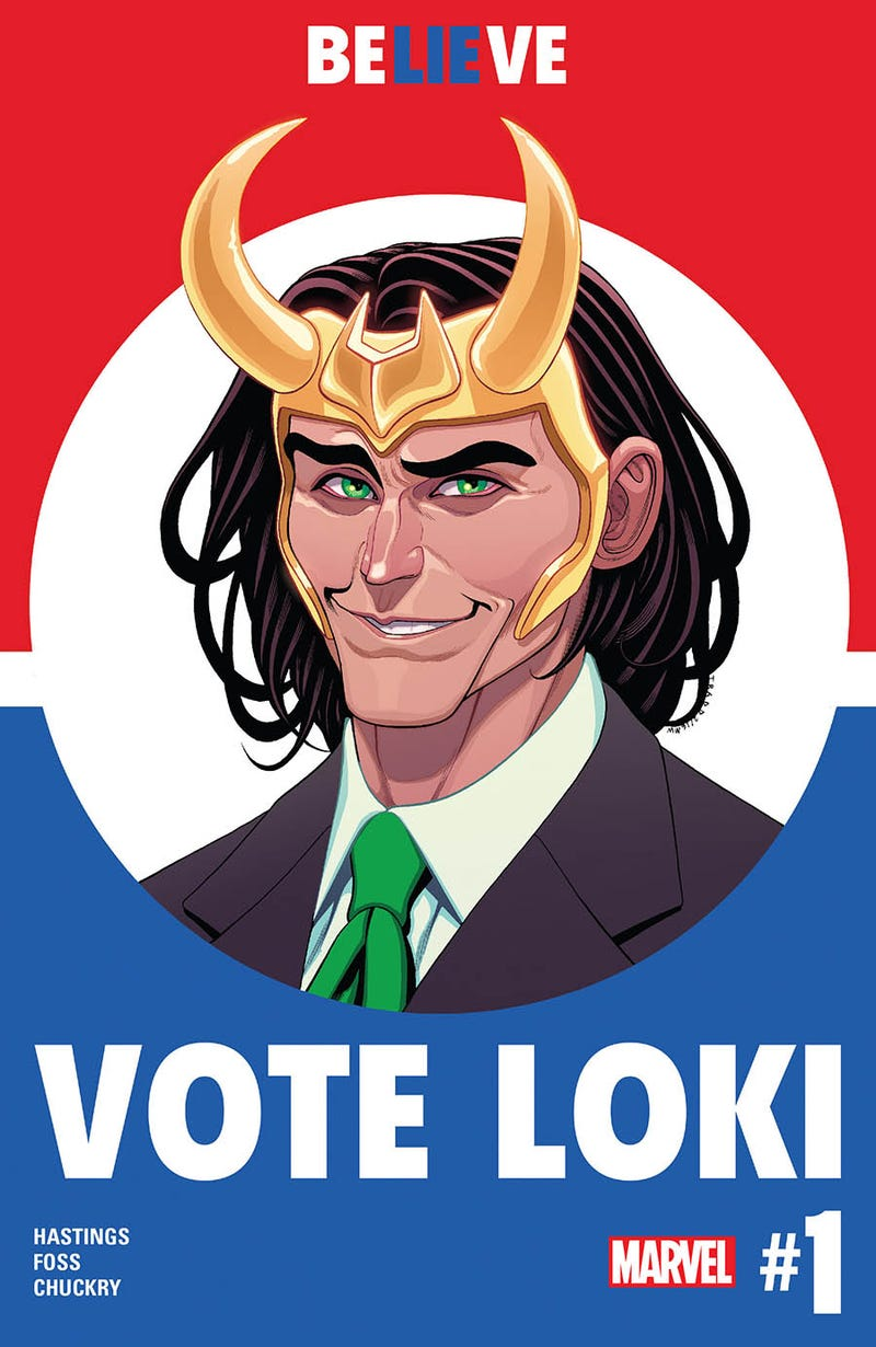 Illustration for article titled Ragnarok the Vote with Vote Loki #1