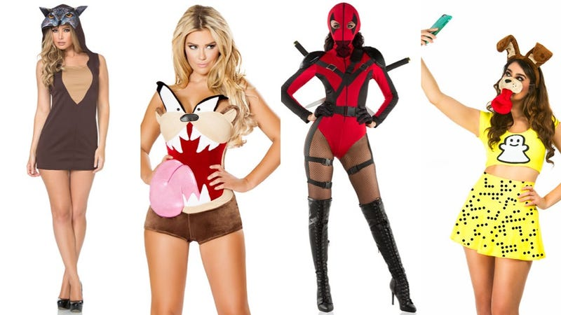 weve only got about two weeks left before halloween so if you dont already have a costume like me its time to lock that shit down - Skimpy Halloween Outfits