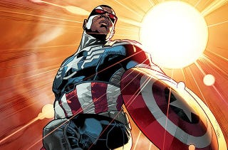 Illustration for article titled Your New Captain America Is Sam Wilson