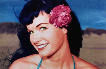 Illustration for article titled Pin-Up Legend Bettie Page, Dead At 85