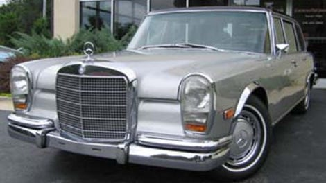 For $9,900, Could This Corvette-Powered 1968 Mercedes-Benz