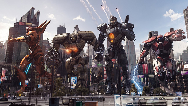 The wonderful giant robots of Pacific Rim Uprising.