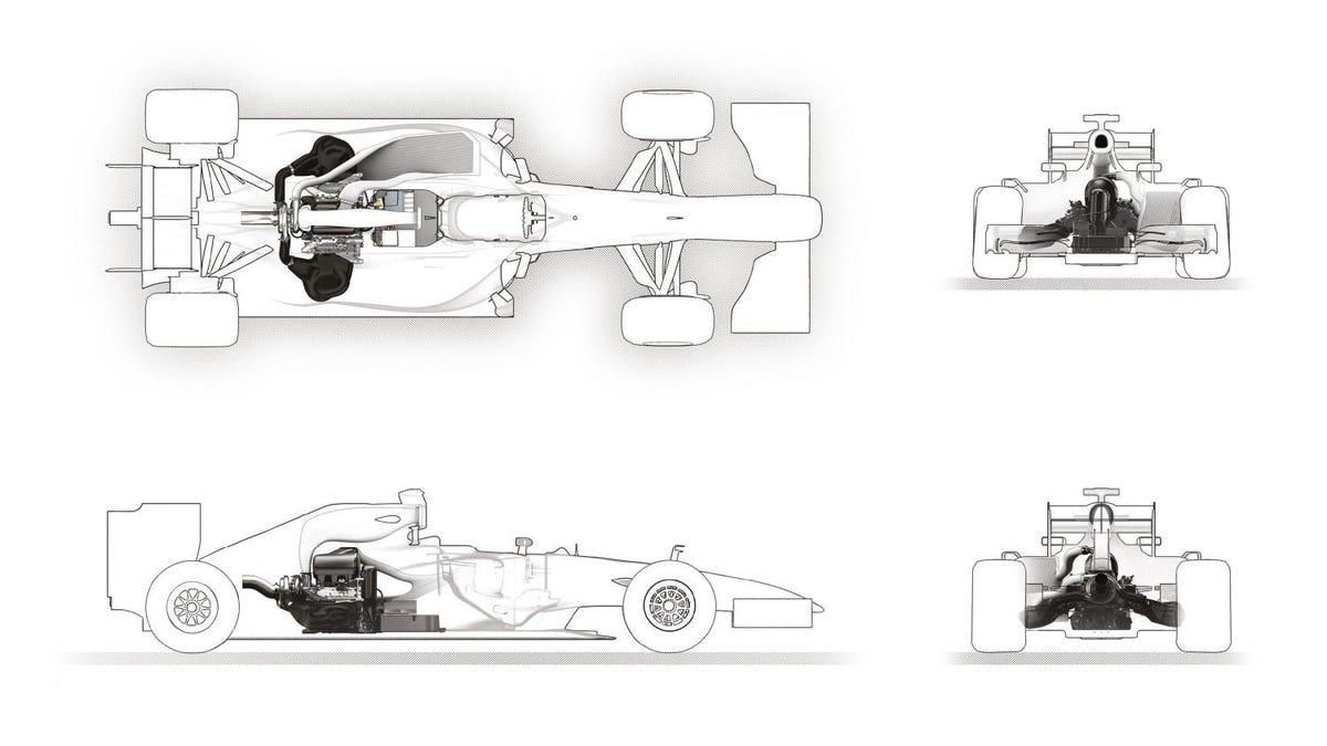 How Formula Ones Amazing New Hybrid Turbo Engine Works F1 Bmw Diagram