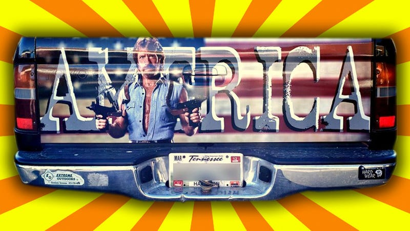 Illustration for article titled Chuck Norris Will Make Your Truck A Million Times More Manly