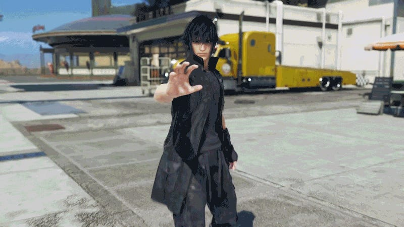 Noctis Lucis Caelum from Final Fantasy 15 announced for Tekken 7
