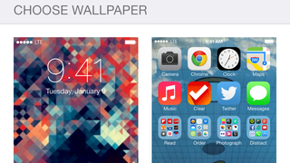 Pick the Right Wallpaper to Make Parallax on iOS 7 Shine