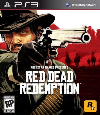 Illustration for article titled Red Dead Redemption Box Art Gets Less Red